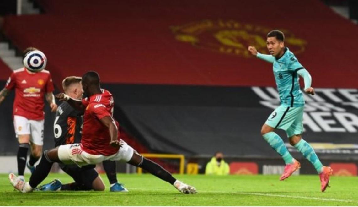 利物浦击败曼联从而闯入前四名的希望得到了提升