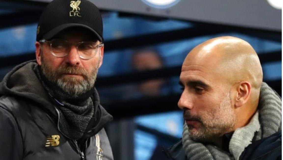 曼城老板瓜迪奥拉说利物浦的尤尔根~克洛普使他成为一名更好的经理