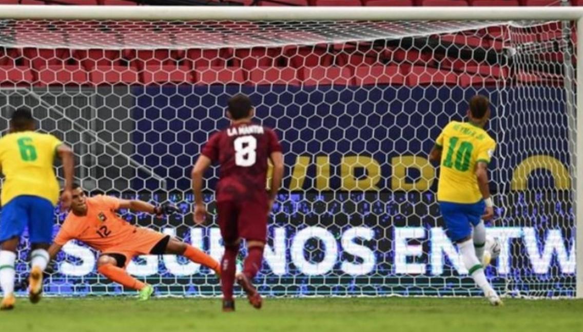 巴西赢得了美洲杯揭幕战