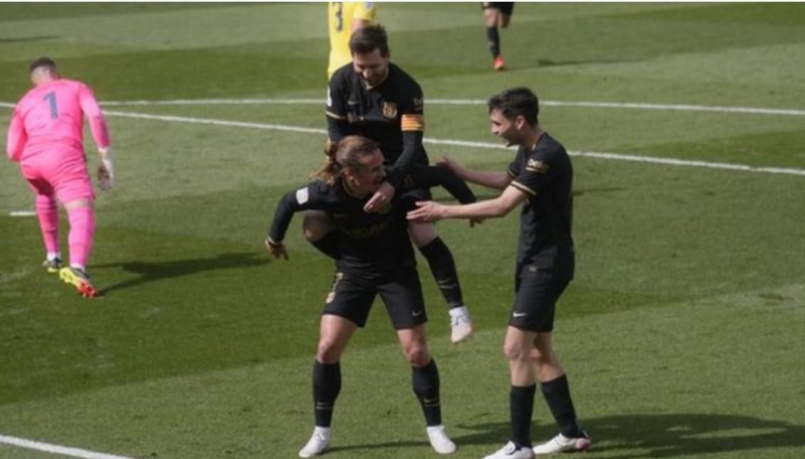 巴塞罗那追赶上了皇家马德里