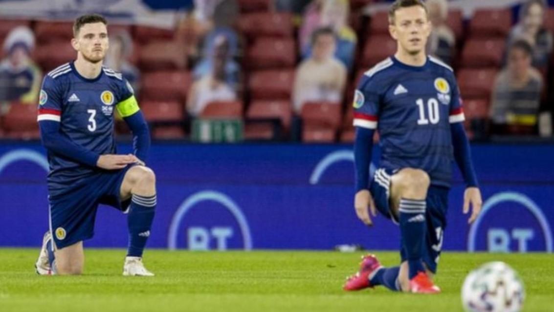 苏格兰队伍将在温布利球场开赛前跪下
