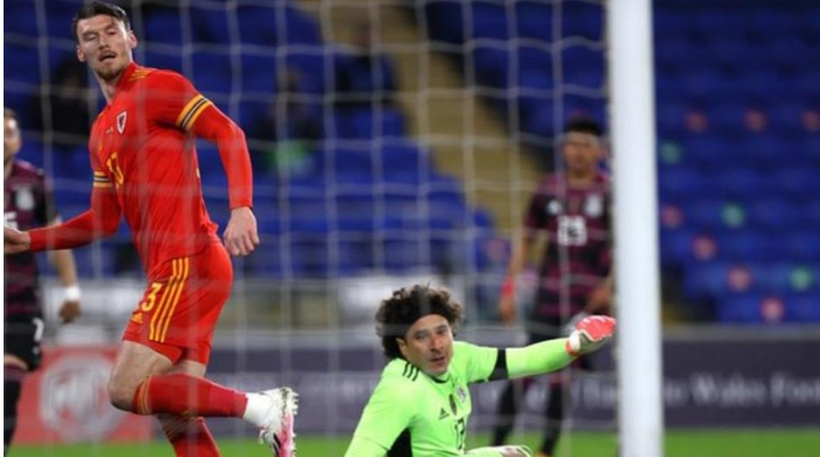 基弗·穆尔使威尔士赢得了于墨西哥的友谊赛