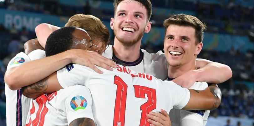 英格兰再次创造佳绩在八强决赛中击败了乌克兰