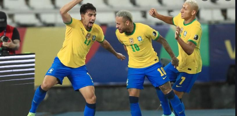 巴西到达了美洲杯决赛