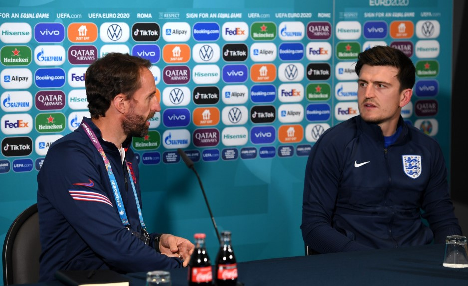 哈里·马奎尔对延长索特盖特与英格兰队的合约表示赞同