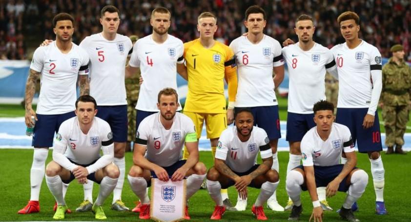 英格兰进入 2020 年欧洲杯决赛