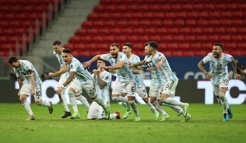 阿根廷闯进了美洲杯决赛