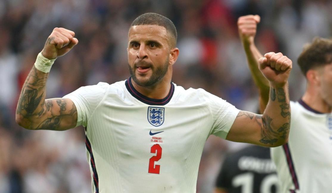 沃克与意大利的最后一场对决之前,是英格兰在欧洲杯上保持防守稳固的关键