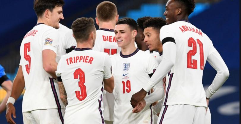 英格兰队的年轻球员们让我们感到自豪(
