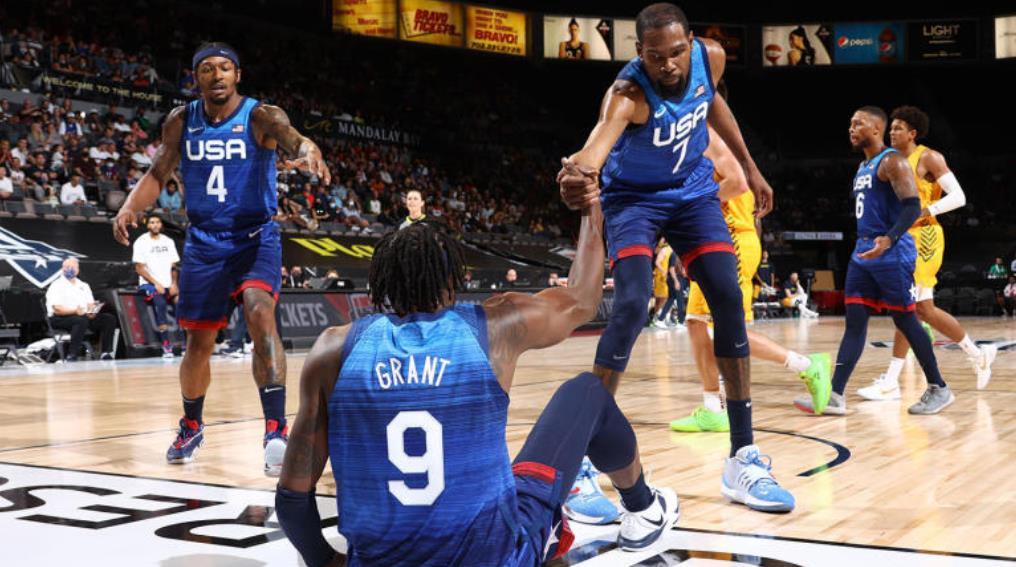 澳大利亚在东京奥运会前让美国男篮再次遭遇令人震惊的失利