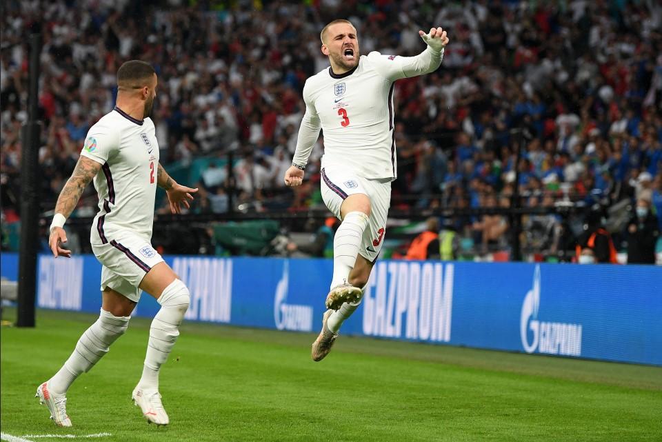 英格兰和意大利在欧洲杯赛事都是表现出色