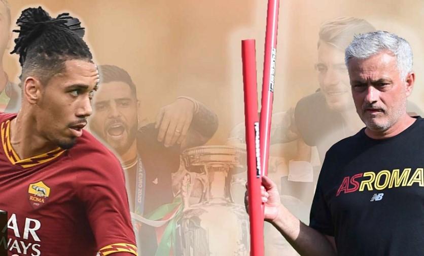 克里斯·斯莫林表示在罗马与前曼联主帅何塞·穆里尼奥重聚使他兴奋又惊讶