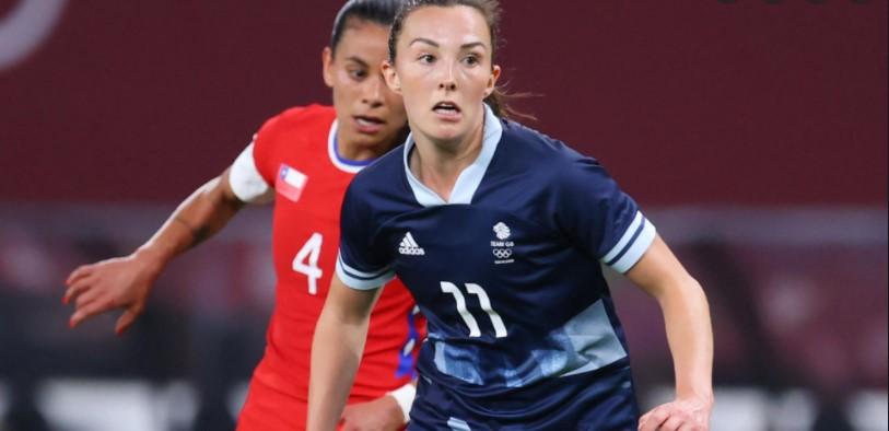 英国女子国家奥林匹克队与加拿大队伍战平