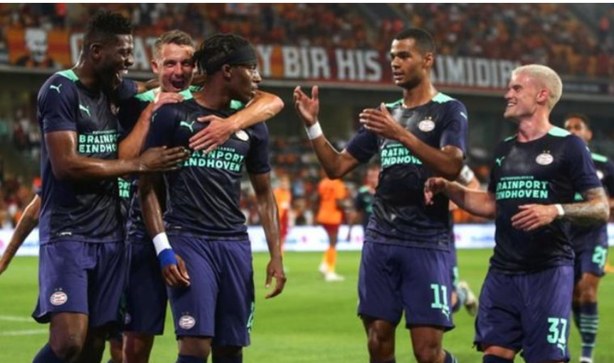 圣.约翰斯通将在欧洲冠军联赛资格赛中对阵PSV埃因霍温队