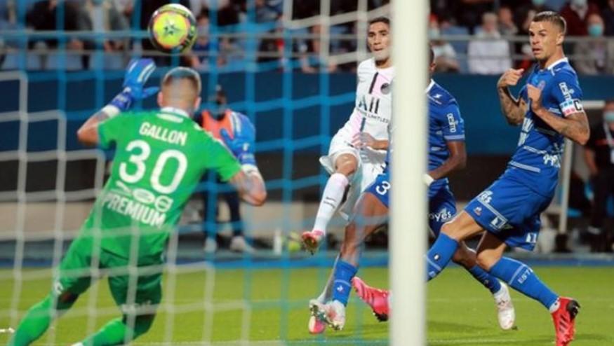 巴黎圣日耳曼以击败特鲁瓦开启了他们的新赛季