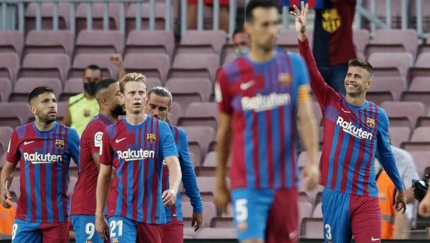 巴塞罗那在没有梅西的第一场比赛中击败了皇家社会