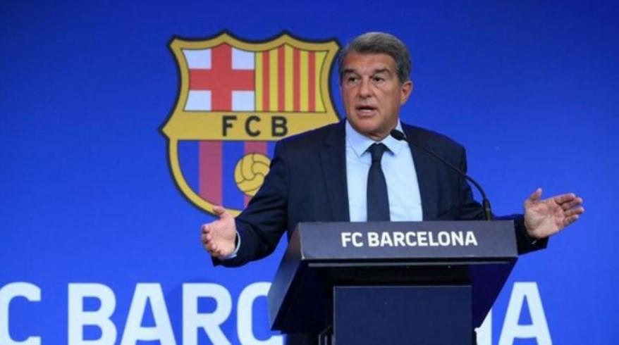 巴塞罗那主席胡安·拉波尔塔透露俱乐部债务为 11.5 亿英镑