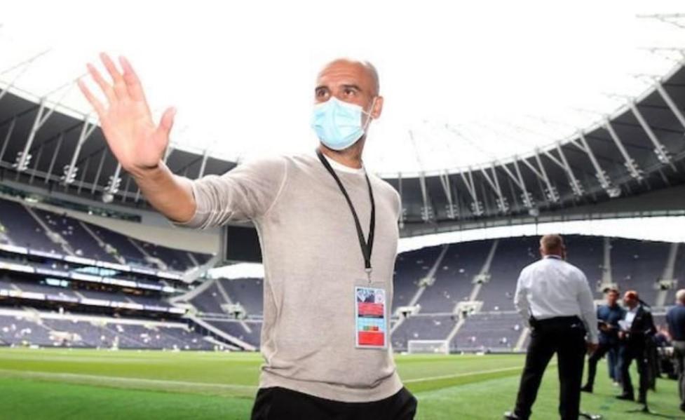 英超联赛经理中的瓜迪奥拉敦促球员接种新冠状病毒疫苗