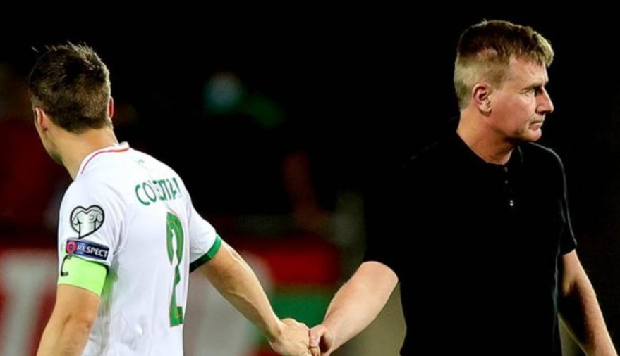 """爱尔兰共和国教练在他的""""英雄""""球队遭受葡萄牙晚期失球痛苦后质疑裁判"""
