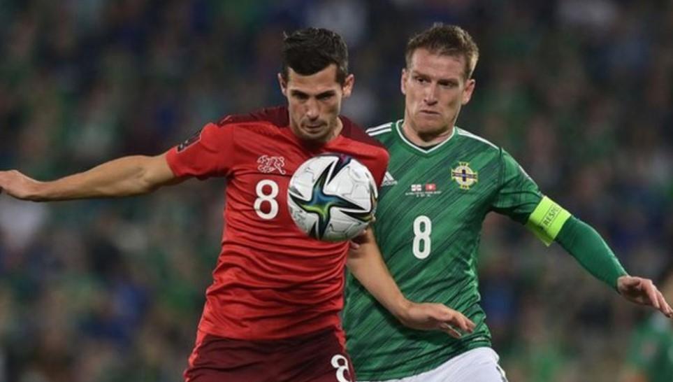 北爱尔兰与瑞士在世界杯预选赛中战平