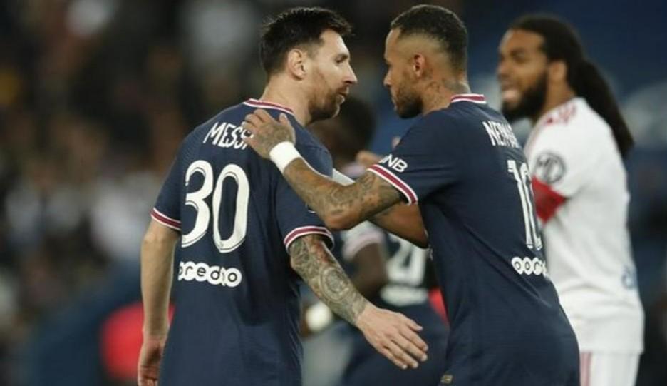 梅西加入巴黎圣日耳曼的第三场比赛