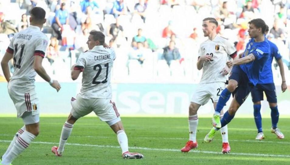 意大利击败了比利时以获得欧洲足联国家联赛的第三名