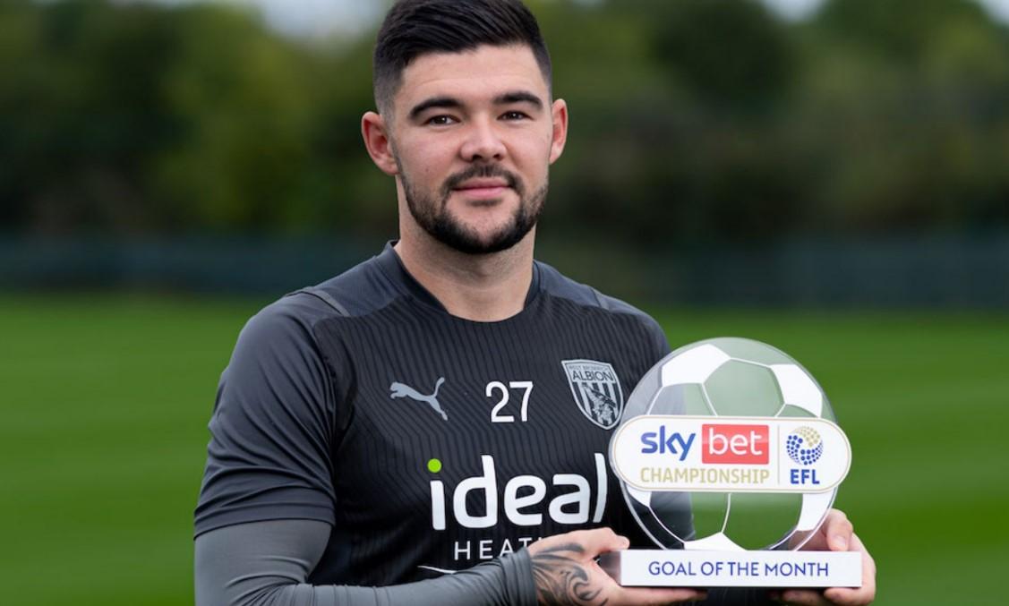 莫厄特获得英格兰足球冠军联赛 9 月份的最佳进球奖