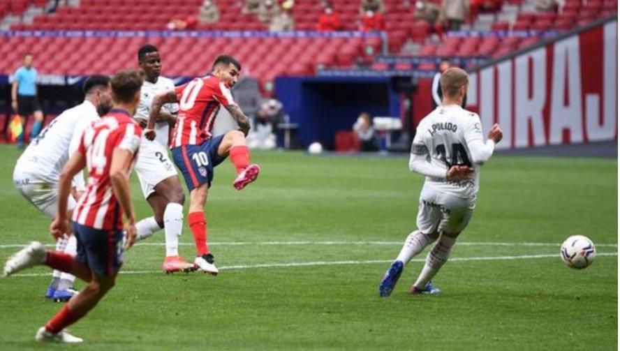 马德里竞技队重返排行榜的榜首