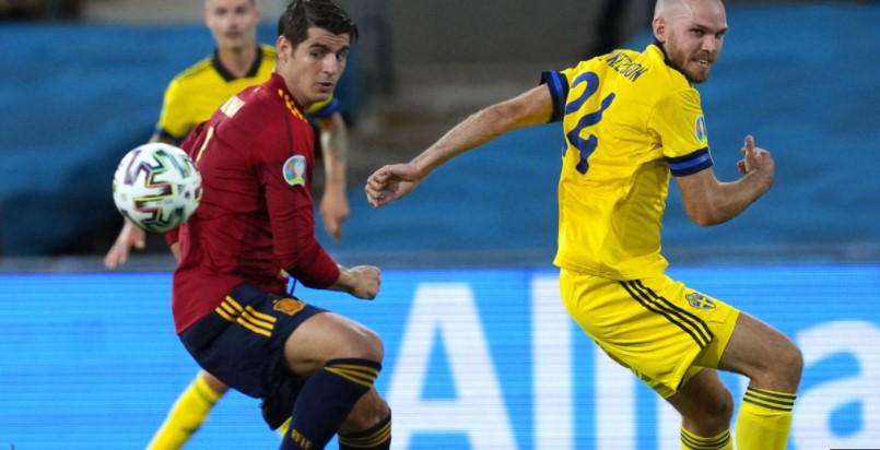 西班牙还是被固执的瑞典给战平了