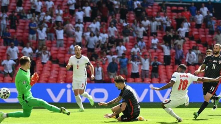 斯特林的球使英格兰获得了首场欧洲杯胜利