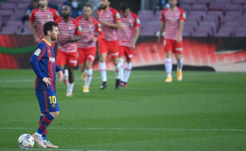 巴塞罗那错失了位居榜首的机会
