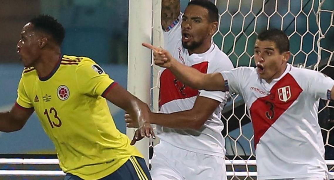 秘鲁以2-1击败了哥伦比亚