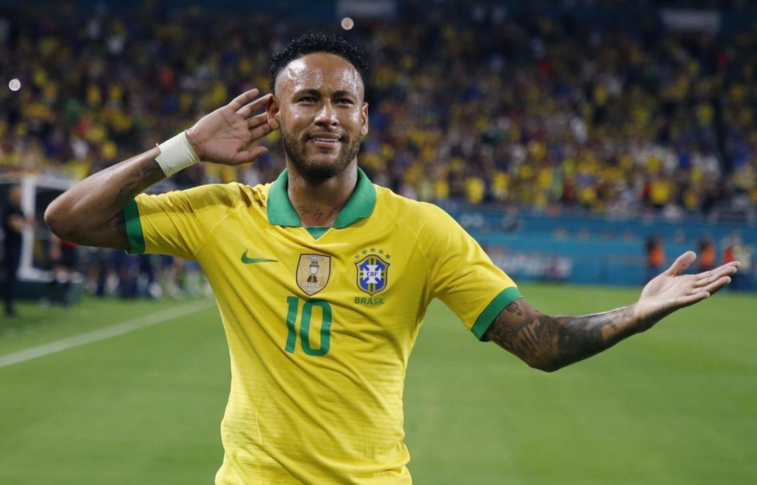 内马尔即将在巴西创造进球历史