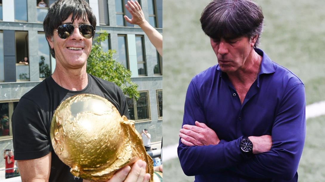 """勒夫""""抱歉"""",因为德国主教练在欧洲杯退出后告别"""