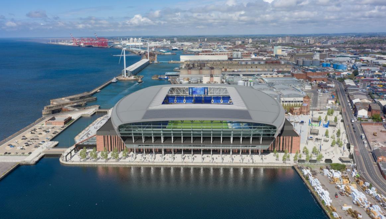 埃弗顿确认了建造可容纳 52,888 人的新体育场的开始日期