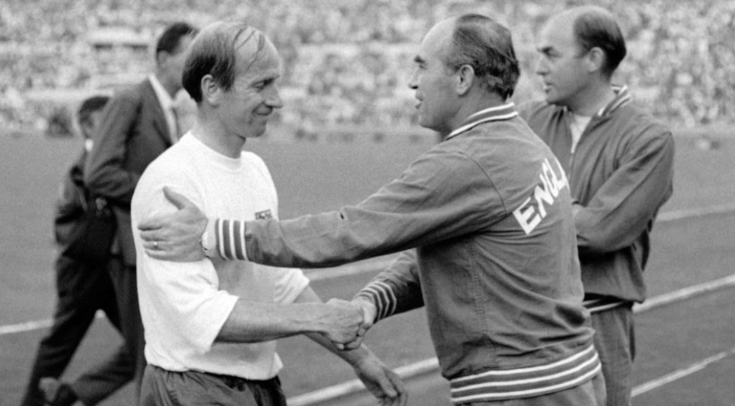 1968 年的欧洲杯 - 南斯拉夫 1-0 英格兰