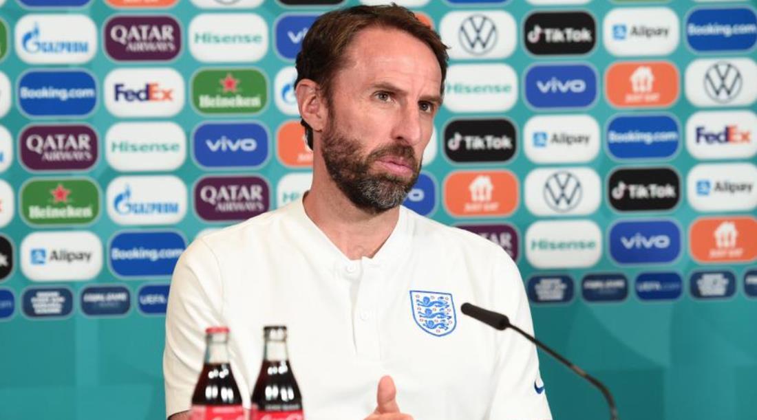 索斯盖特敦促英格兰在欧洲杯与意大利的对决中迈出最后一步