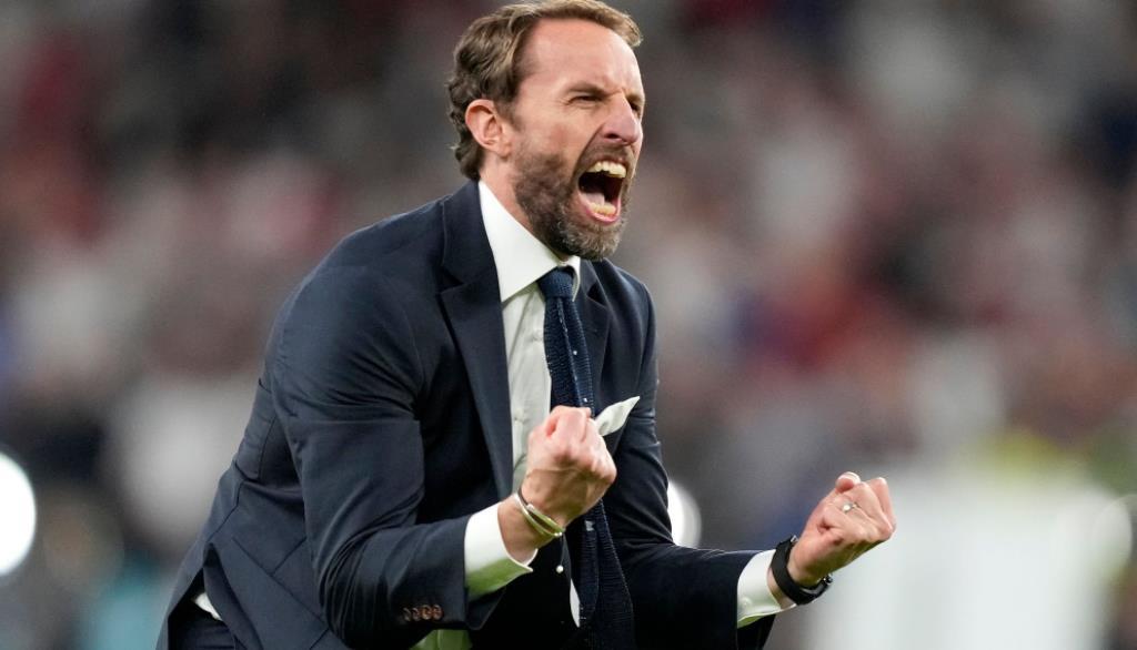 索斯盖特表示,英格兰准备在决赛对阵意大利之前将奖杯带回家