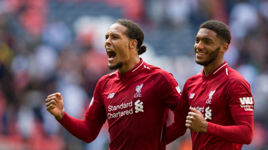 利物浦主帅说,雲迪克和乔在接近伤病复出时看起来真的很棒