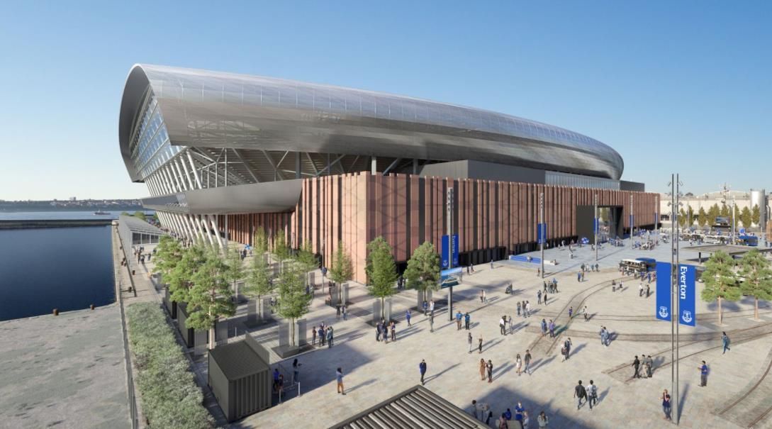 埃弗顿强调遗产的重要性,因为新体育场的工作开始了