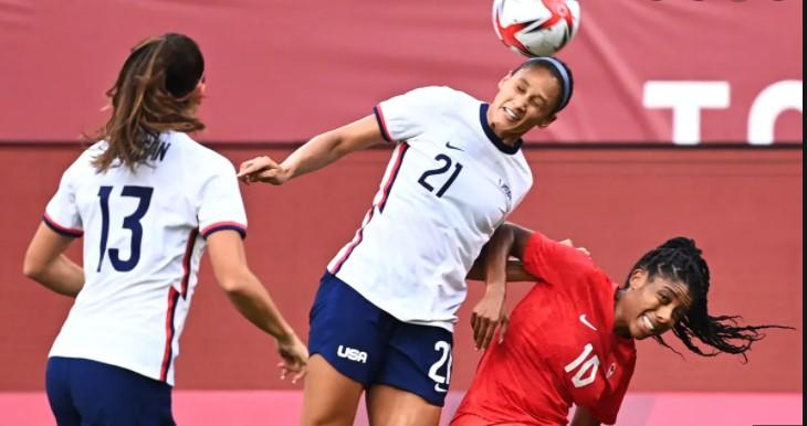 加拿大击败美国队传入女足总决赛