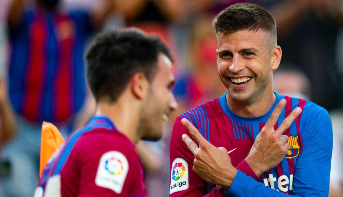 巴塞罗那在没有莱昂内尔~梅西的第一场比赛中击败皇家社会