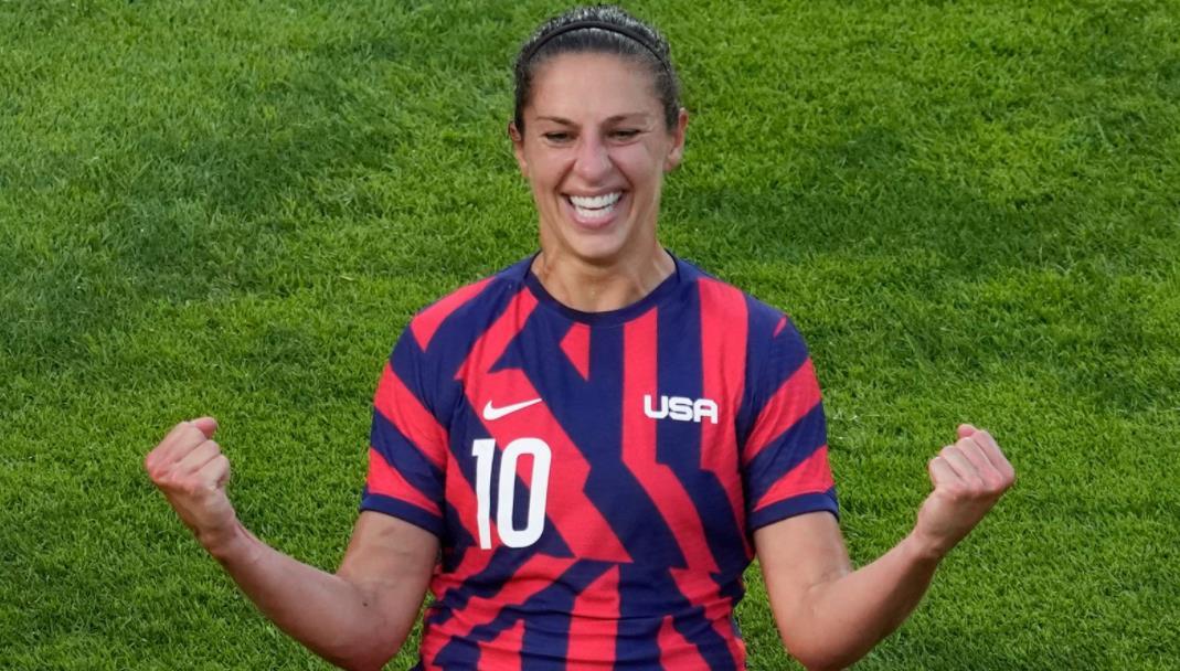 美国女子队传奇人物在国际出场300多次后将于2021年底退役