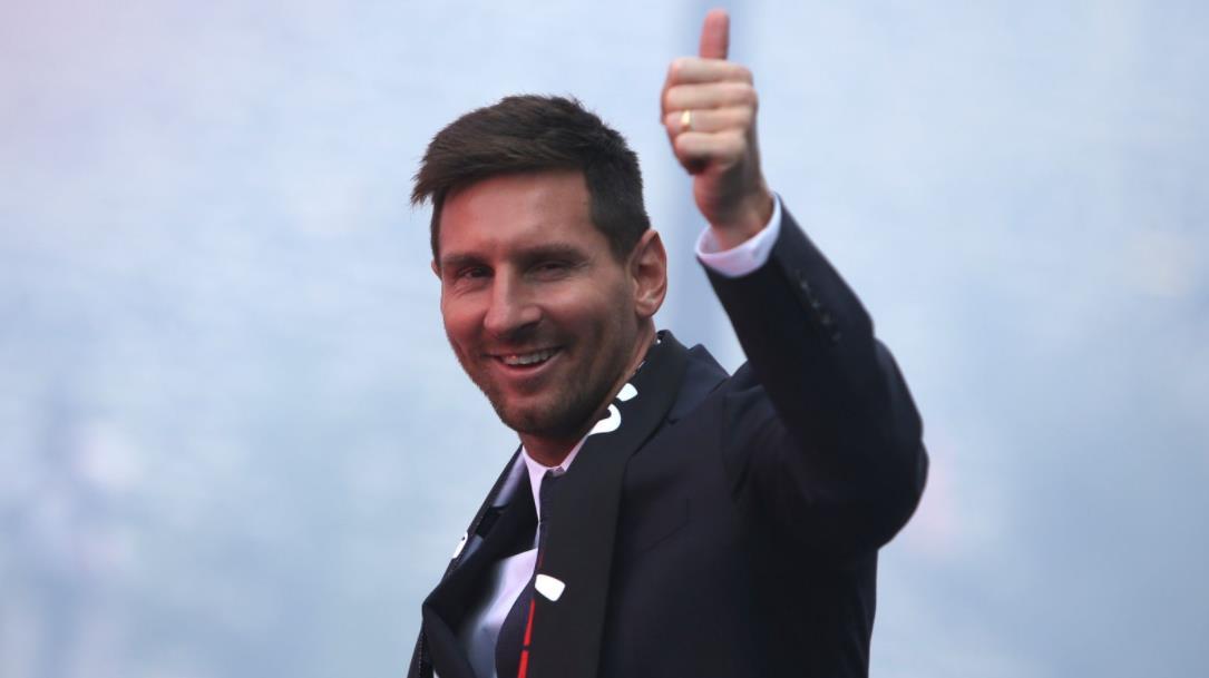 梅西预计在对阵兰斯的比赛中首次亮相巴黎圣日耳曼