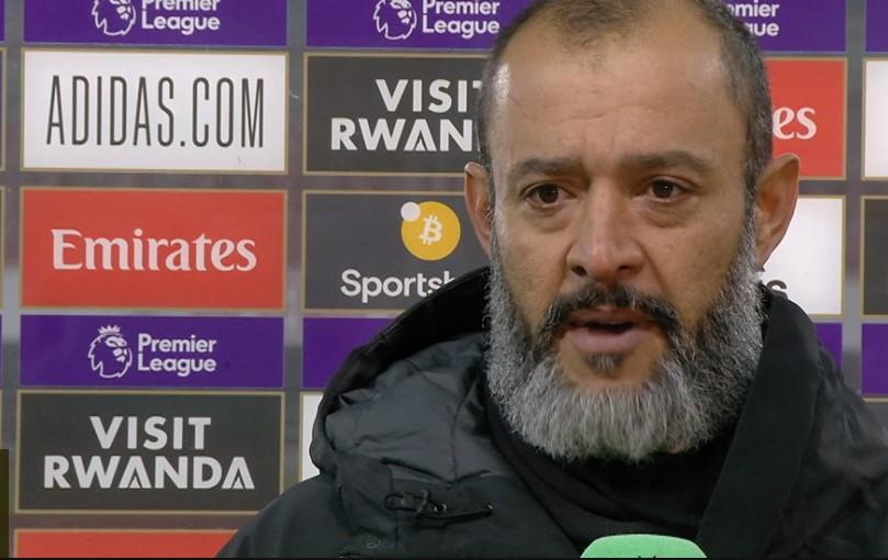 狼队主教练表示希门尼斯的头部骨折当时很严重
