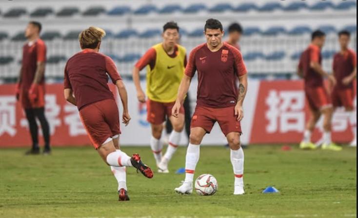 中国队备战世界杯预选赛
