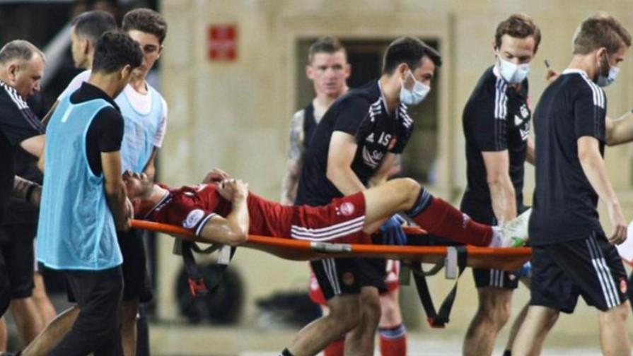 尽管在比赛中失利但是卡拉巴赫足球俱乐部欧足联欧洲联赛小组赛阶段的希望仍然存在
