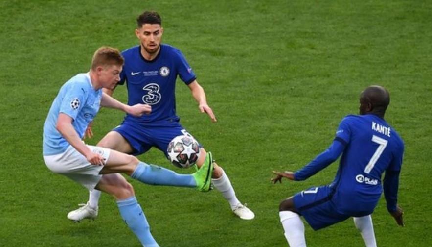 英超三人组约尔金霍、恩戈洛·坎特和凯文·德布劳内争夺欧洲足球联合会联盟年度最佳男球员