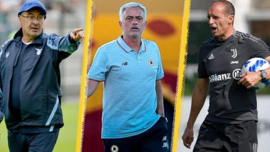 """穆里尼奥、毛里齐奥、马西米利亚诺和管理层的""""旋转木马"""""""
