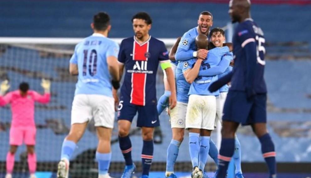 欧冠联撒抽签结果:曼城对阵巴黎圣日耳曼,切尔西对阵尤文图斯